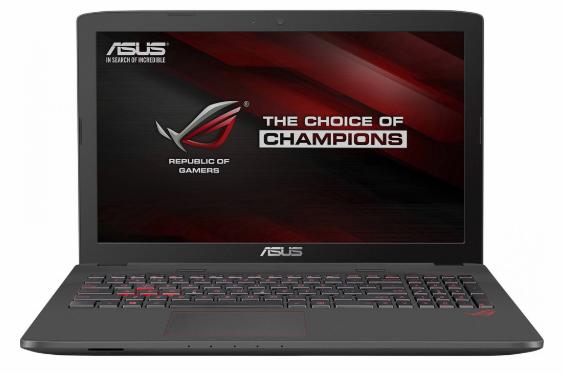 Ремонт ноутбука Asus ROG GL753