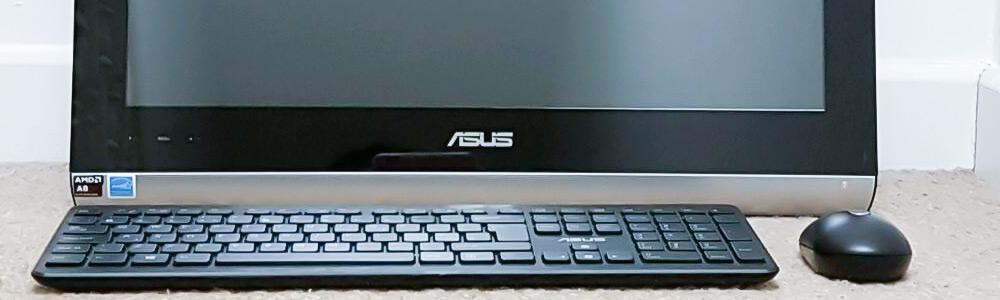 Черный экран на моноблоке Asus