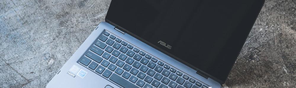 На ноутбуке Asus нет изображения