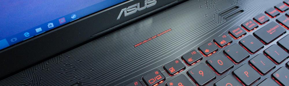 Ремонт и замена клавиатуры на ноутбуке Asus
