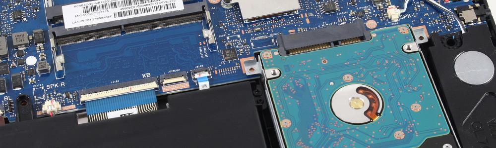 Замена жестких дисков SSD на технике Asus